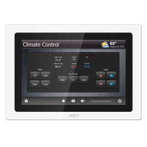 KX10 10 Inch In-Wall Touchpanel