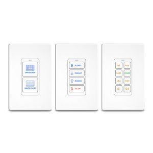 RK1-2,4,8 In-Wall Keypad