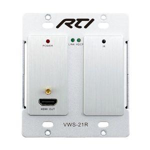 VWS-21R Wallplate HDBaseT Video Receiver