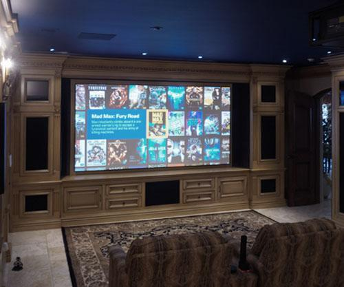 Home Cinema With Voice Control