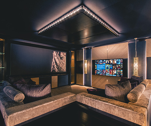 Hidden Home Cinema