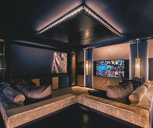 Hidden Home Cinema