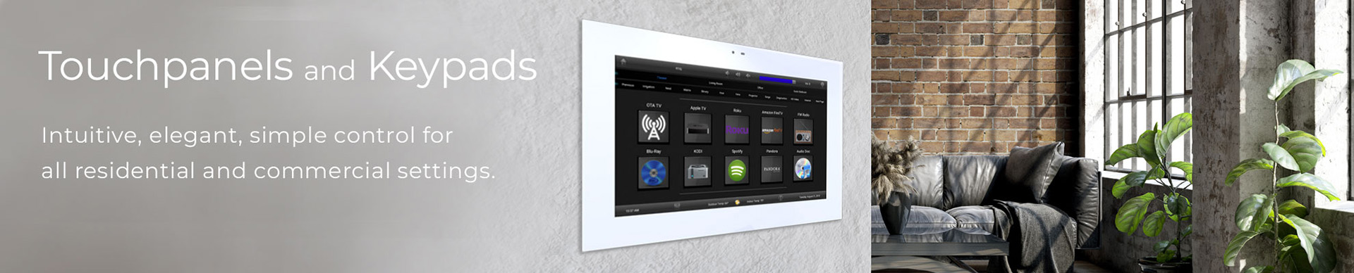 Touchpanels & Keypads
