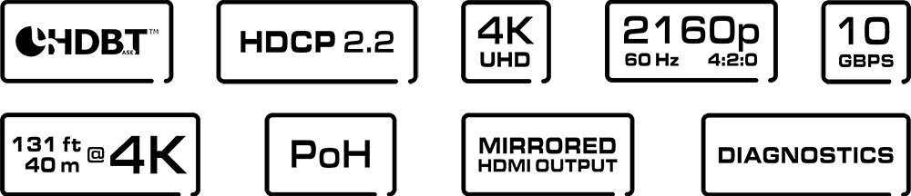 VHD-4x Features
